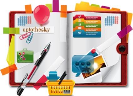 ¿Cómo adornar un diario personal?