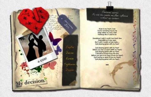 Elementos de un diario personal